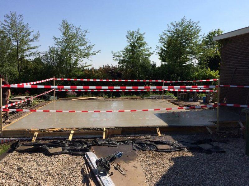 Nieuwbouw garage Waddinxveen