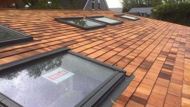 Houten dak renoveren