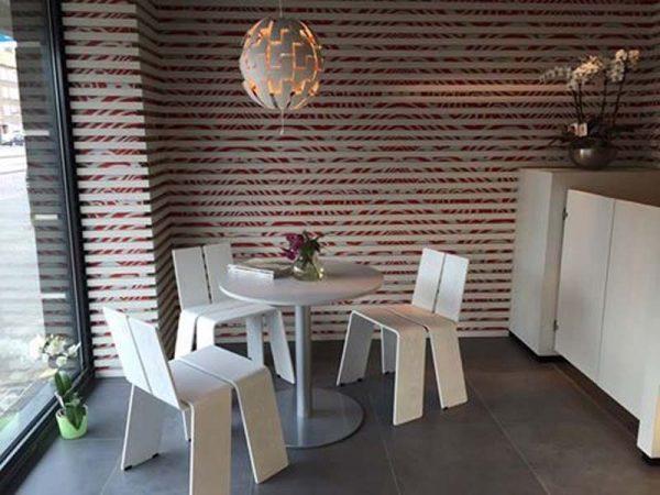 Verbouw winkel tot restaurant